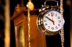 Timmar för klockatid Fotografering för Bildbyråer