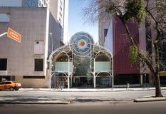 24 timmar gata - Curitiba, Parana, Brasilien Arkivbild