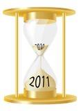 timme för 2011 exponeringsglas Fotografering för Bildbyråer