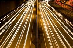 timmen rusar trafik Royaltyfri Fotografi
