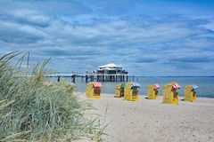 Timmendorfer Strand,baltic Sea,Germany Royalty Free Stock Photography