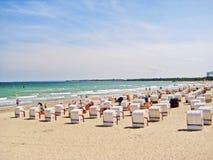 Timmendorfer Strand, baltic sea, germany Stock Photo