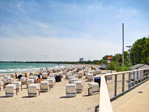 Timmendorfer Strand, baltic sea, germany Royalty Free Stock Images
