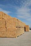 Timmerhout Stock Foto's