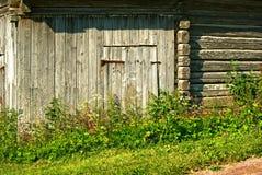 Timmerladugård Arkivbild
