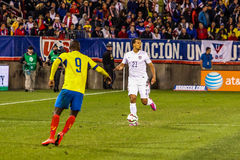Timmy Chandler #21 on US International Friendly match Stock Images
