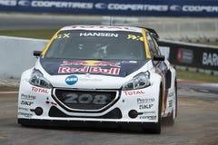 Timmy HANSEN Barcelona FIA Rallycross Światowy mistrzostwo Zdjęcia Royalty Free