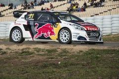 Timmy HANSEN Barcelona FIA Rallycross Światowy mistrzostwo Obraz Royalty Free