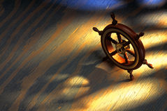 timón Imagen de archivo libre de regalías