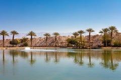 Timna Lake, Israel Royalty Free Stock Images
