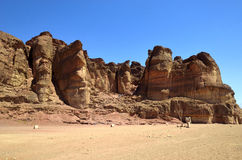 Timna national park Stock Photo