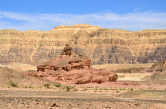Timna park, Israel Royalty Free Stock Photos