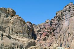 Timna Park of Israel stock images