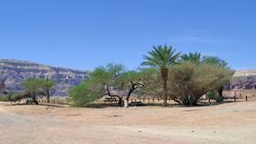 Timna Park of Israel stock photography