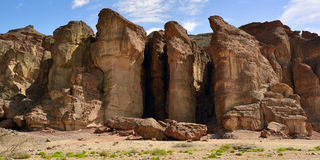 Timna park, Israel Royalty Free Stock Photography