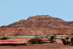 Timna Park and  King Solomon's Mines Stock Photos