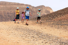 Timna Park and King Solomon's Mines - Israel Stock Image