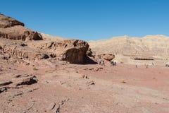 At Timna Park, near Eilat royalty free stock photos
