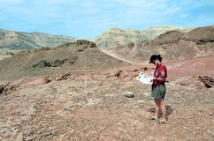 Timna Park Rock Formations, Israel Royalty Free Stock Image