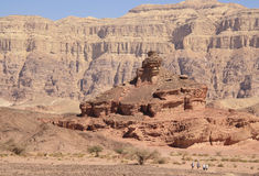 Timna Park. This scenics place located in Israel near Eilat. It is called Timna Park. In the Arabian desert Stock Photo