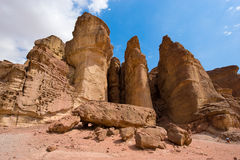 Timna park Royalty Free Stock Image