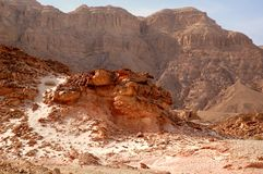 Timna Valley Royalty Free Stock Images