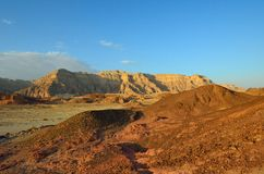 Timna Valley. The Timna Valley - historical area is rich in copper ore,  the southwestern Arabah, Israel Stock Image