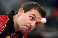 Timo Boll ( GER ) Royalty Free Stock Images