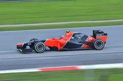 Timo Glock, squadra Marussia Cosworth Immagini Stock Libere da Diritti