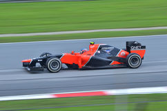Timo Glock, team Marussia Cosworth Royalty Free Stock Images