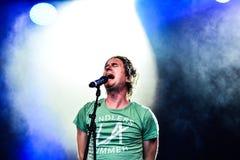 Timo Räisänen and band Royalty Free Stock Photos