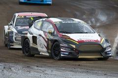Timo SCHEIDER 巴塞罗那FIA世界Rallycross 免版税图库摄影