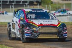 Timo SCHEIDER Barcelona FIA świat Rallycross Zdjęcie Stock