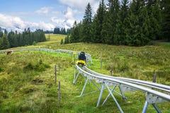 Timoks alpin kustfartyg i Fieberbrunn, Tirol, Österrike Fotografering för Bildbyråer