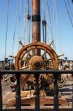 Timone della nave Immagine Stock