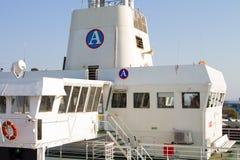 Timonera del transbordador Foto de archivo libre de regalías
