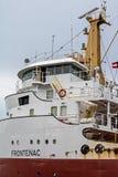 Timoniera del cargo di Grandi Laghi a Welland Canal immagine stock
