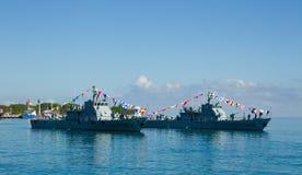 Timor leste celebrates national army day Stock Images
