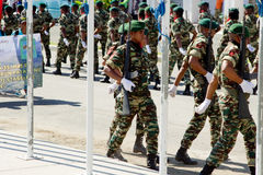 Timor leste celebrates national army day Stock Images
