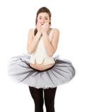 Timore del ballerino fotografia stock