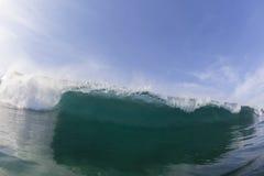 Timore del pericolo di potere di Wave Immagini Stock Libere da Diritti