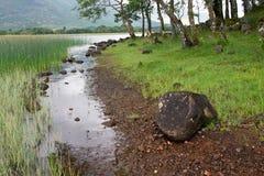 Timore della Scozia, lago della riva del fiume Fotografie Stock Libere da Diritti
