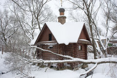 Timothy IzotovHoly spring in winter. Holy spring in winter, Sergiev Posad Stock Photos