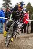 Timothy Johnson - Pro Cyclocross Racer Stock Image