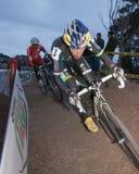 Timothy Johnson - Pro Cyclocross Racer Stock Photos