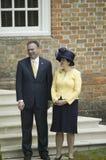 Timothy Kaine και η σύζυγός του Anne Holton Στοκ Εικόνες