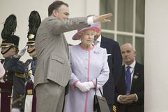 Timothy M. Kaine  and Her Majesty Queen Elizabeth II Stock Photography