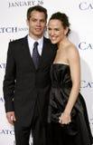 Timothy Olyphant i Jennifer Garner Zdjęcie Stock