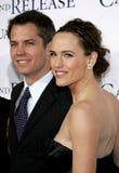 Timothy Olyphant i Jennifer Garner Fotografia Royalty Free