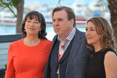 Timothy Spall & Marion Bailey & Dorothy Atkinson Stock Images